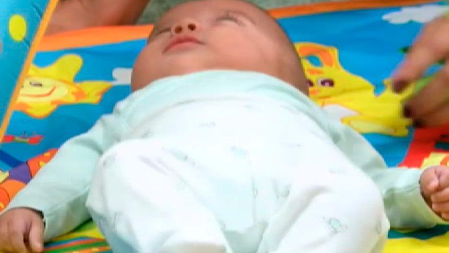 Hugo, el bebé milagro de Galicia nacido en tiempos de pandemia