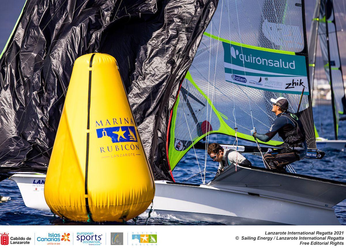 Pruebas clasificatorias de vela en Lanzarote para los Juegos Olímpicos de Tokio