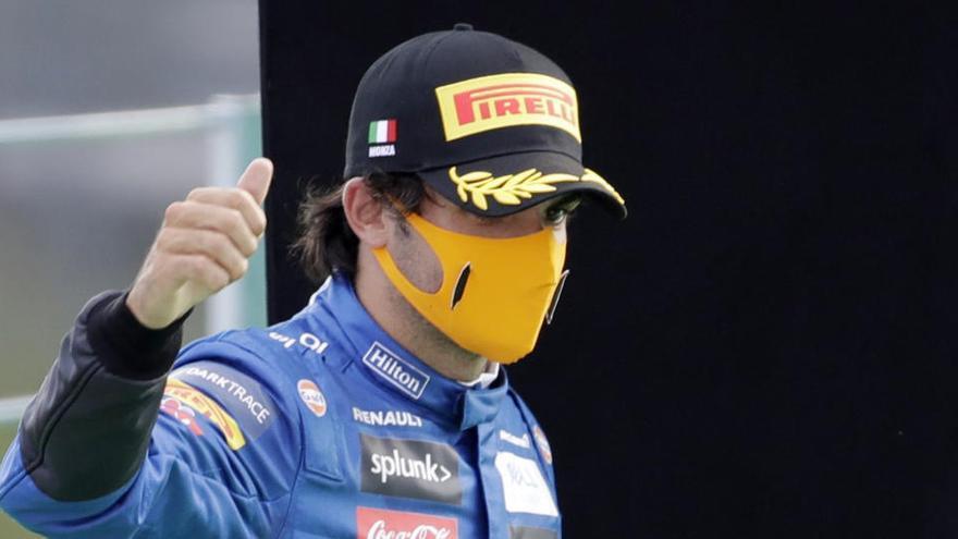 """Sainz, con sabor agridulce: """"Estoy casi decepcionado"""""""