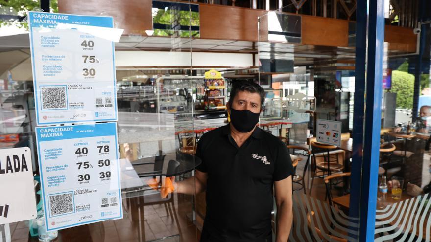 Nueva reducción de aforos por la vertiginosa escalada del COVID en la ciudad