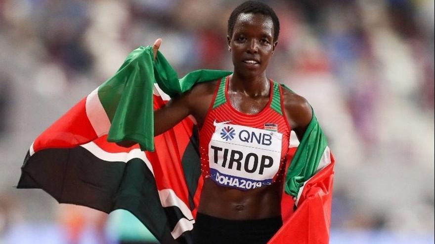 Muere apuñalada por su marido la plusmarquista keniata Agnes Jebet Tirop