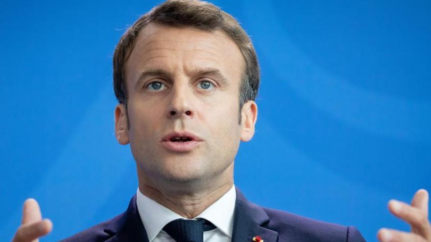 """Macron podría """"abrir un diálogo estratégico"""" sobre su """"contingente nuclear"""""""