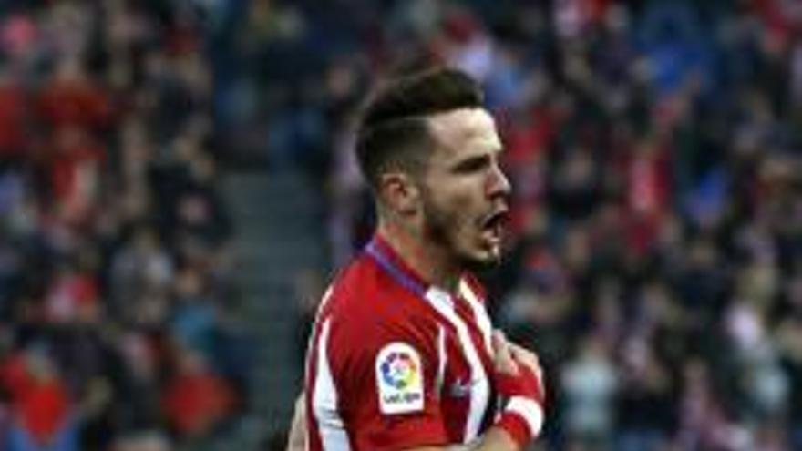 Saúl y Moyá salvan al Atlético de un apuro