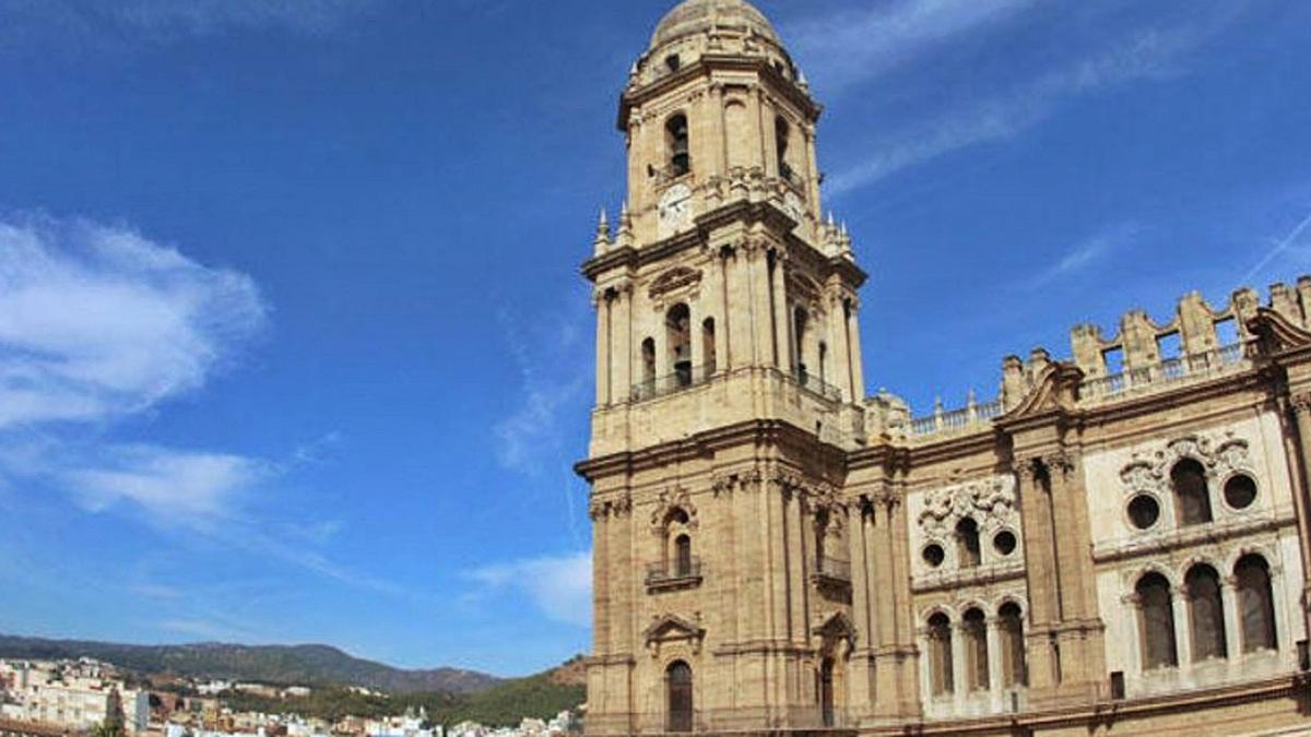 Vista de la Catedral de Málaga.   L. O.
