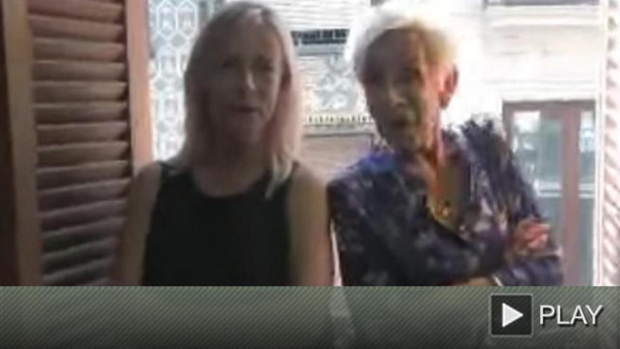 Sonia Castedo vuelve a la actualidad con un curioso vídeo