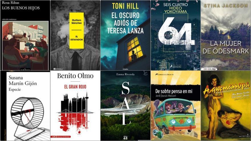 Novela negra: 15 libros recomendados para Sant Jordi 2021