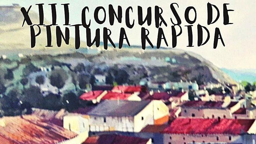 Lucena de Jalón acogerá el  XIII Concurso de Pintura Rápida
