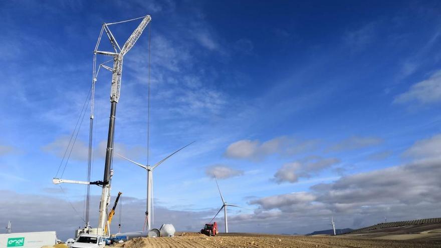 El parque eólico Los Arcos generará energía para 28.000 familias al año