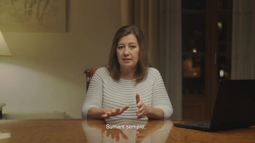 Mensaje de fin de año de la presidenta del Govern, Francina Armengol