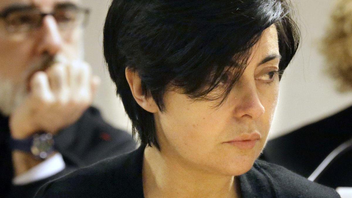 Rosario Porto, durante el juicio, en octubre del 2015.
