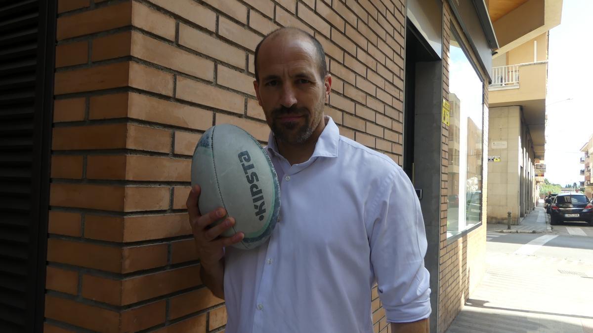 Losantos és el nou president del club de rugbi