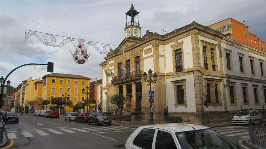 Cangas de Onís, una de las primeras localidades asturianas en instalar el alumbrado navideño