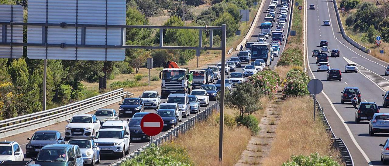 La agresión se produjo en Palma tras un incidente de tráfico en la autopista de Andratx.