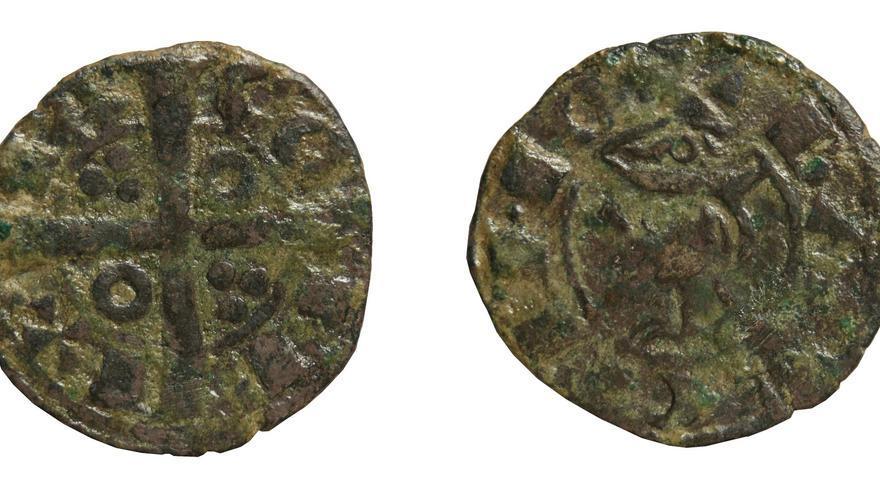 Exponen una moneda de la época de la fundación de La Vila