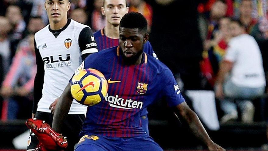 Umtiti renueva con el Barcelona por cinco años