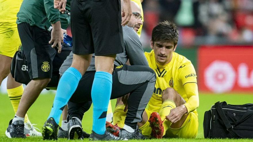 Gerard Moreno vuelve a encender las alarmas en el Villarreal