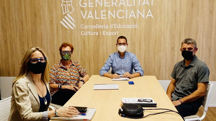 Gata y la conselleria de Educación tramitan la ampliación del IES Matemàtic Vicent Caselles Costa