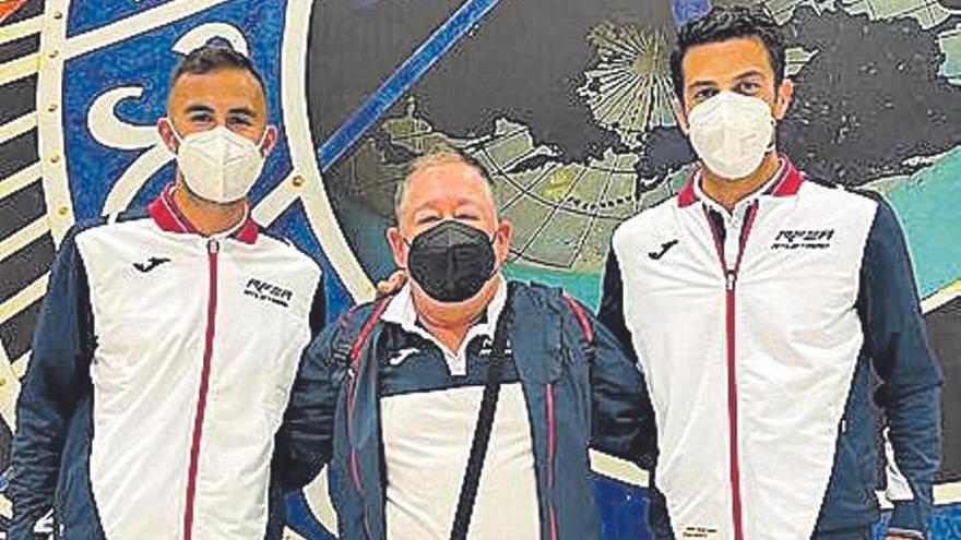 Miguel Ángel López y Bermúdez pelearán en Podebrady por un billete para Tokio
