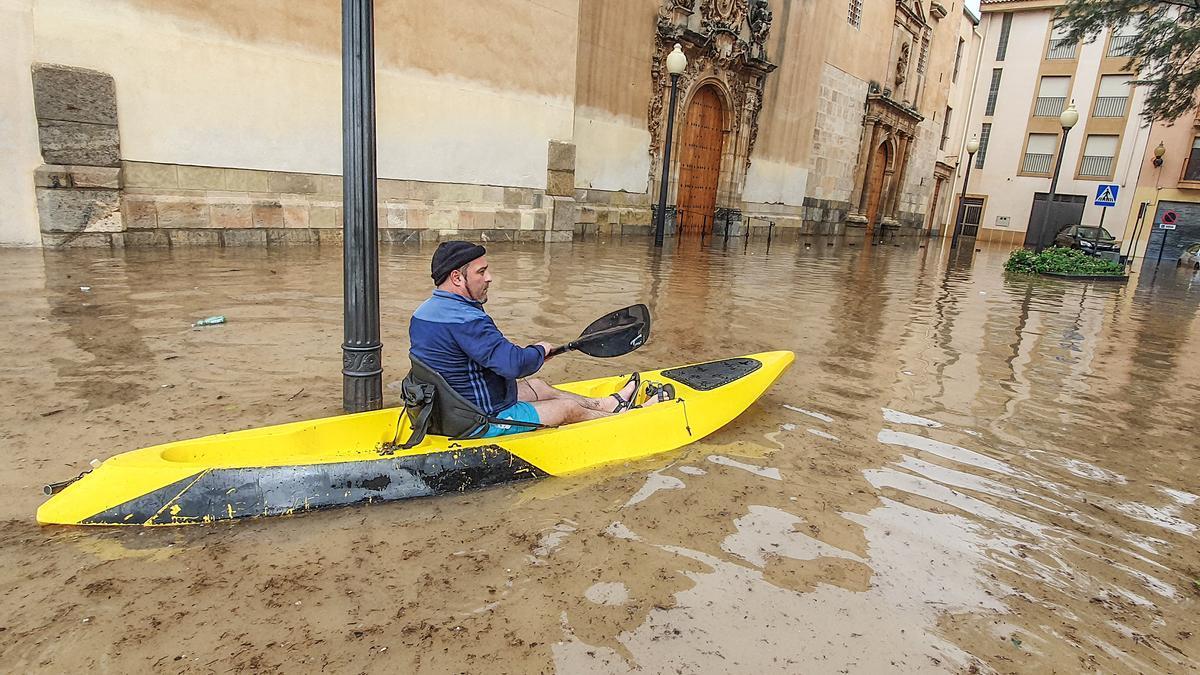 Inundación en la Vega Baja en septiembre pasado.