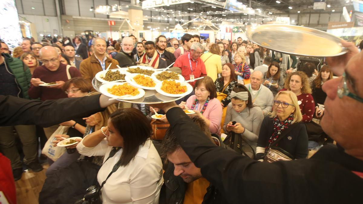 Muestra gastronómica de la provincia en Fitur el pasado enero
