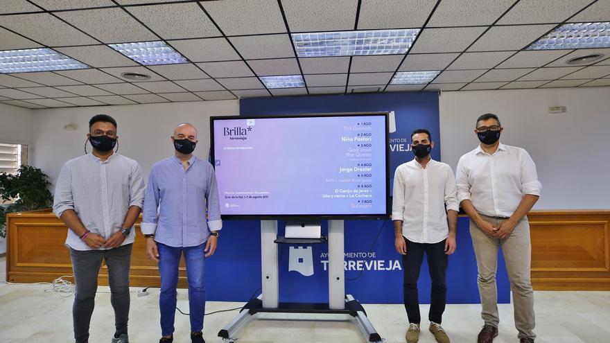 Pol Granch, Niña Pastori, Jorge Drexler y Sidecars actuarán en el Brilla Torrevieja Festival Boutique