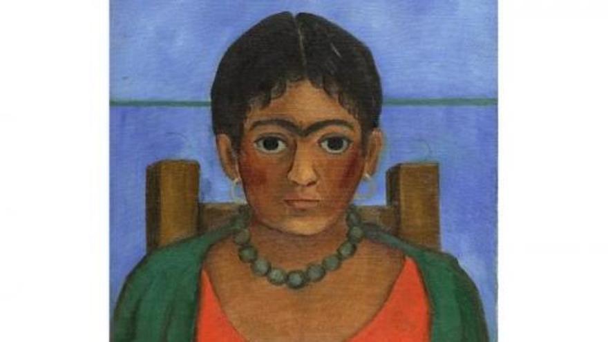 Venden por 1,7 millones una obra nunca vista de Frida Kahlo