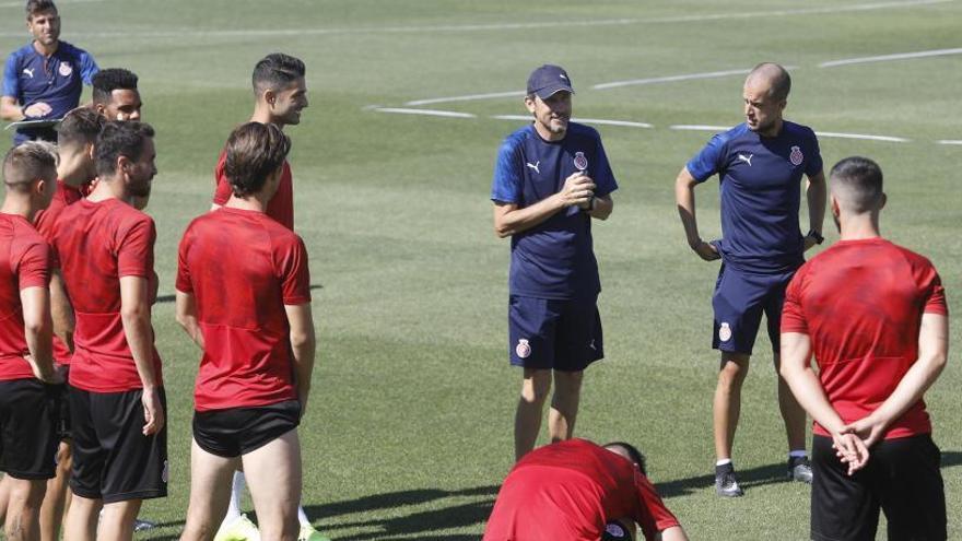Unzué descarta Stuani per jugar a Albacete