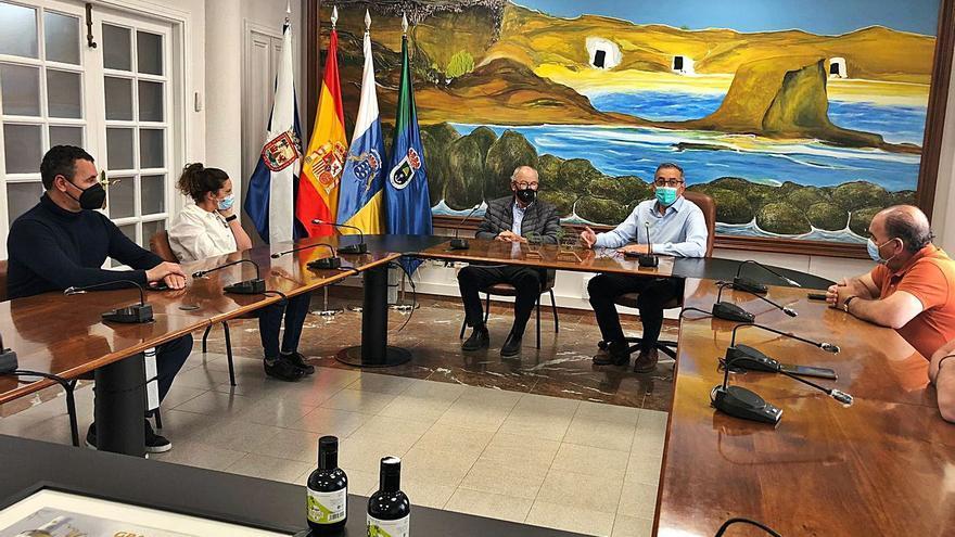 Reconocimiento de Arico a Cumbres de Abona por su aceite