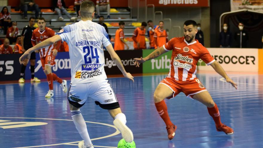 El Jimbee arrolla al Zaragoza para reencontrarse con la victoria (7-0)