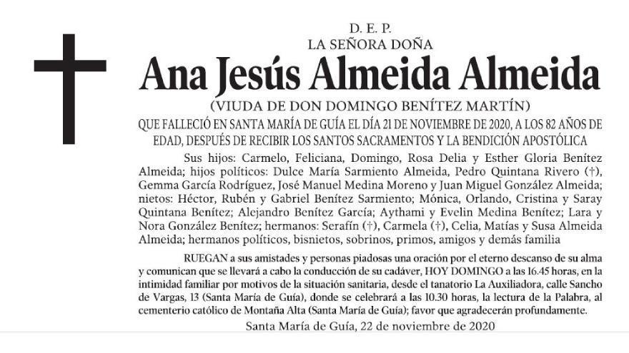 Ana Jesús Almeida Almeida