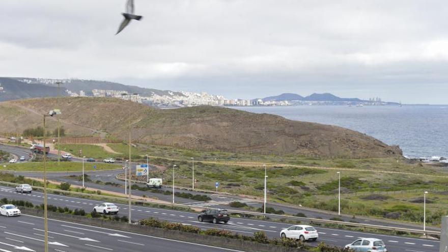 La vía peatonal y ciclista proyectado de Jinámar a la capital cuesta cinco millones