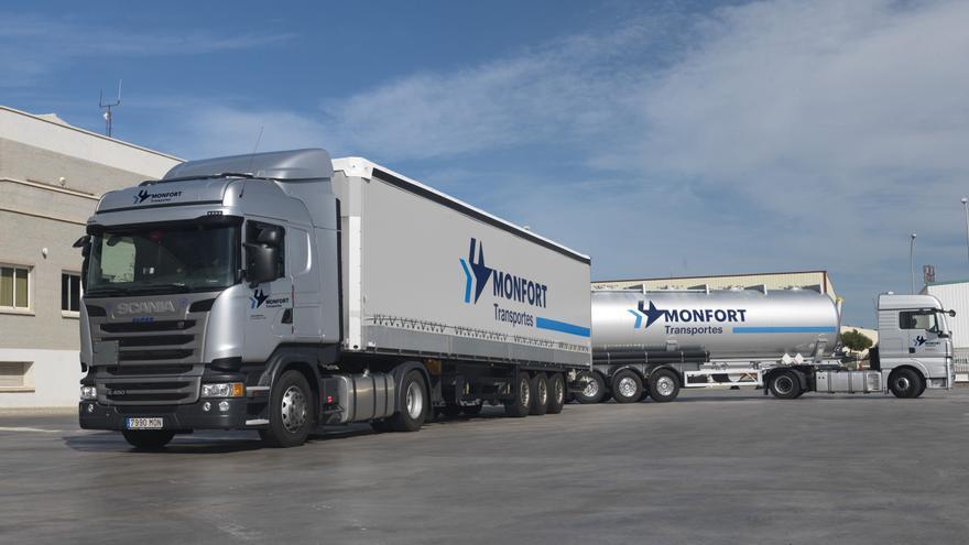Transportes Monfort conecta el sector cerámico con toda Europa