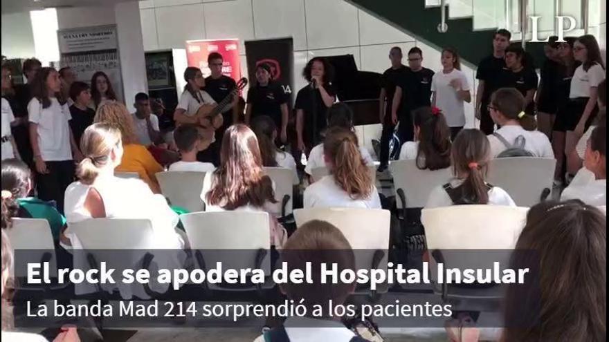 El rock se apodera del Hospital Insular