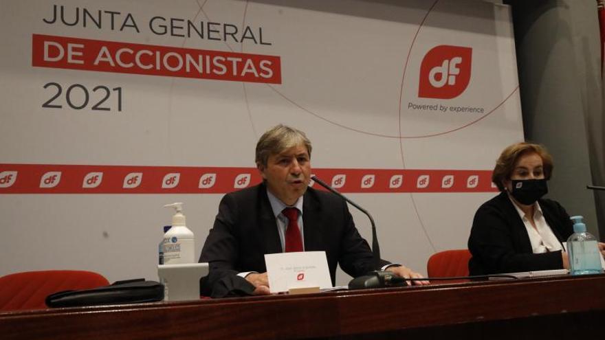 """Duro Felguera atrae a """"más inversores"""" con el rescate percibe el nuevo consejero delegado, Jaime Argüelles"""