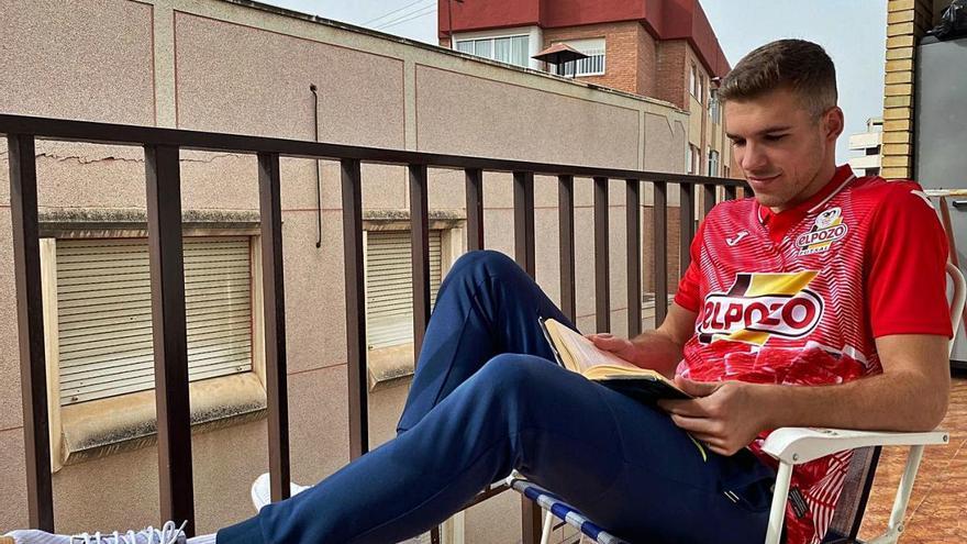 """Alberto García: """"Me tomaba a cachondeo la covid porque soy deportista profesional"""""""