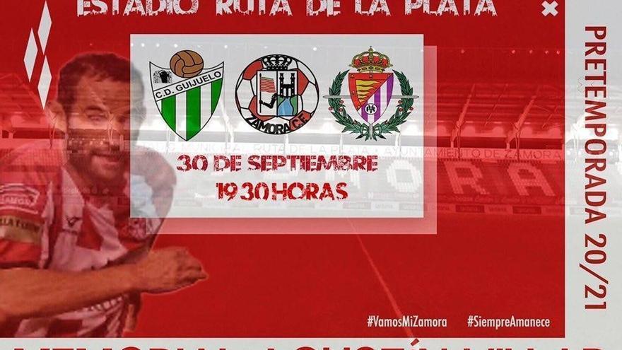 El Zamora pone a la venta 800 entradas para el Memorial Agustín Villar