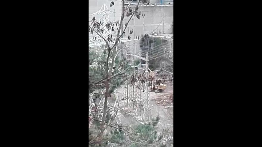 Veïns denuncien que encara es fan obres de desmantellament de la tèrmica de Cercs