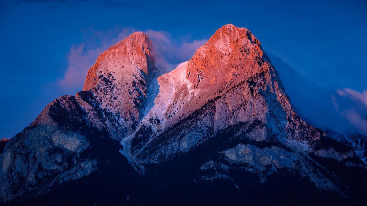 El Pedraforca, una de les muntanyes més emblemàtiques de Catalunya