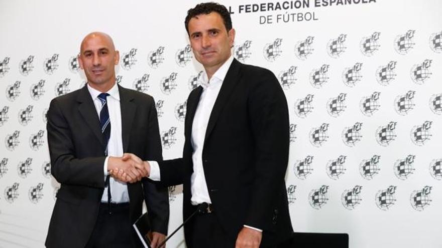 José Francisco Molina, nuevo director deportivo director deportivo de la Federación Española de Fútbol