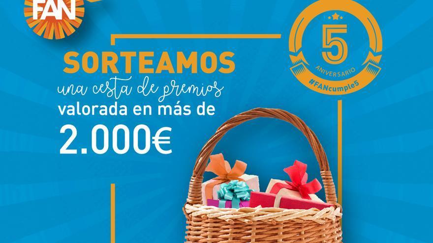 FAN Mallorca Shopping celebra su quinto aniversario con sorteos, música y sorpresas