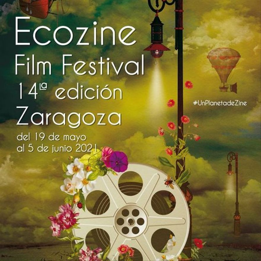Cartel de la 14ª edición de Ecozine Film Festival