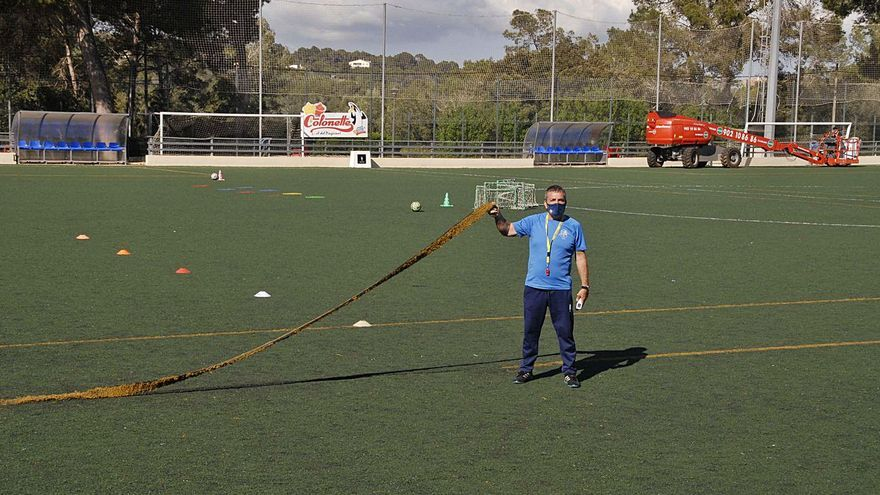 Marratxí adjudica las obras de cambio de césped en las instalaciones deportivas