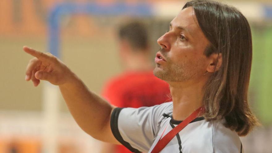 El Manresa FS perd el seu entrenador, Manuel Moya, tres partits per sanció