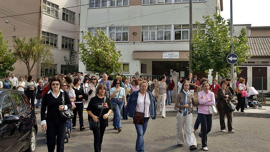 Betanzos denuncia recorte de docentes en el Vales y la Xunta dice que aumentan