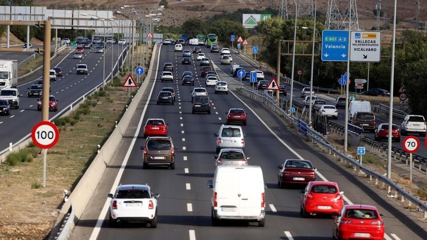No hay éxodo de madrileños en las carreteras