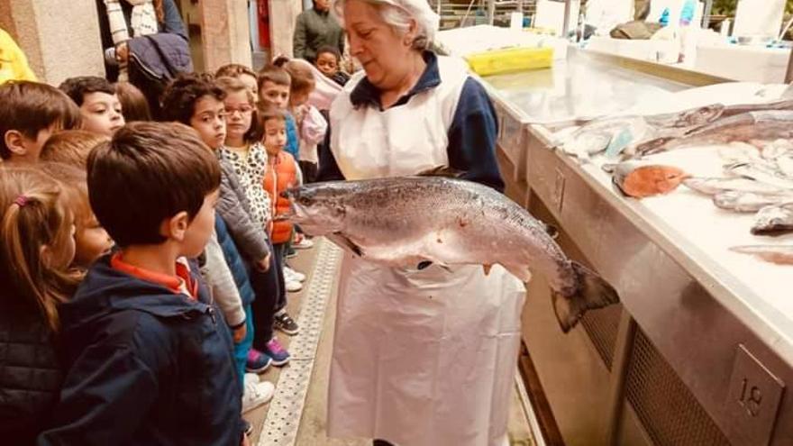 Vuelven las visitas escolares a O Ganapán