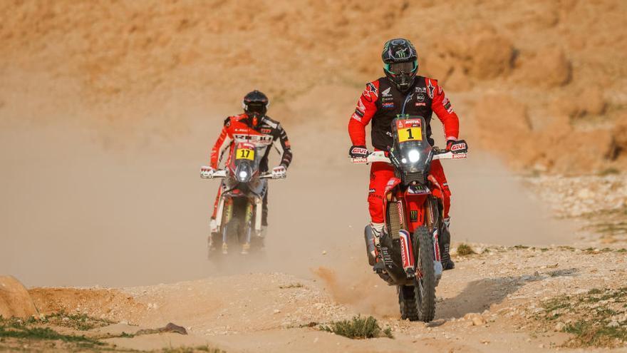 Sainz se mantiene tercero y Barreda pierde tiempo en el Dakar