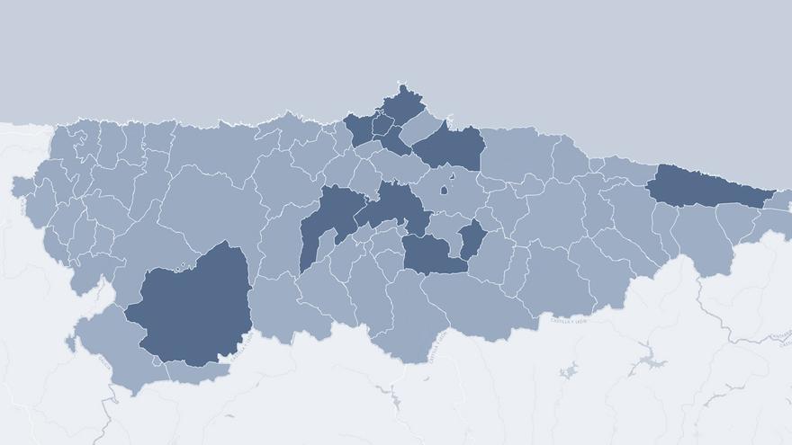 Estos son los 66 concejos asturianos que todavía permanecen abiertos el fin de semana