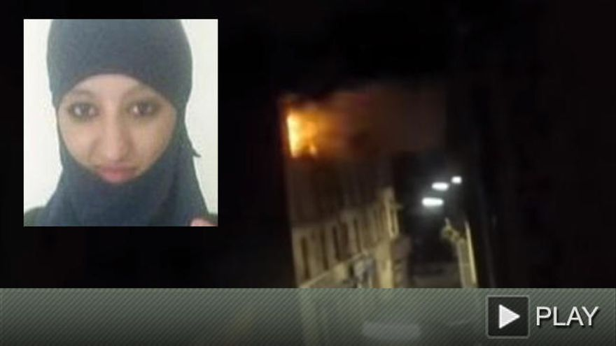 Así se inmoló 'la prima' de Abaaoud en Saint Denis