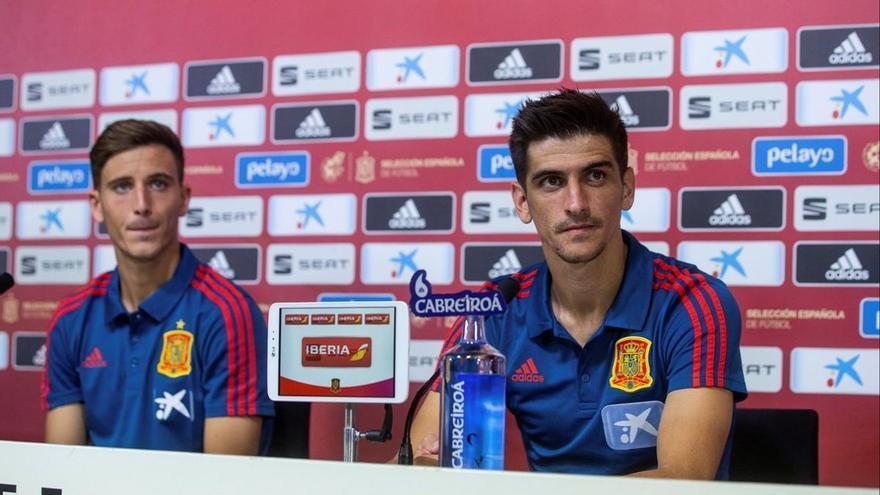 Pau y Gerard, la representación del Villarreal en la Eurocopa